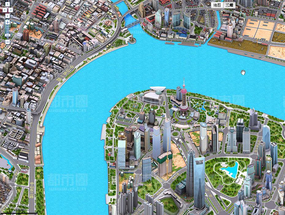 5d,是动画图像,并非立体街景.百度三维地图是与都市圈合作推出.